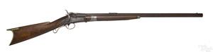Unusual gunsmith made breech loading rifle