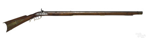 Abraham Gibbs full stock percussion long rifle