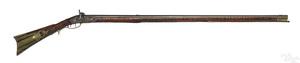 Joshua Yous tiger maple full stock long rifle