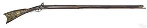 Full stock Pennsylvania flintlock long rifle