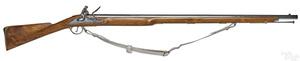 Contemporary full stock flintlock short land Brown Bess musket