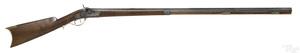 John Moll Jr. half stock percussion rifle