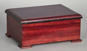 Swiss cylinder music box, late 19th c., 5 1/2