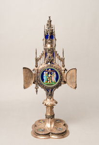 German silver altar piece, 22