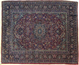 Meshed carpet, 11'8