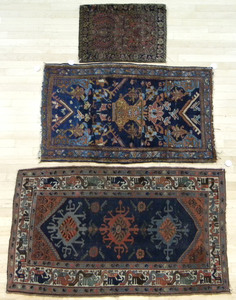 Two Caucasian mats, 5'x 3' and 4'4
