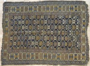 Two Caucasian carpets, ca. 1900, 5'5