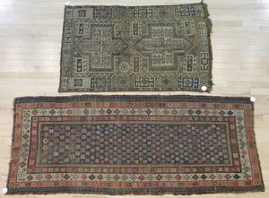 Two Hamadan carpets, early 20th c.