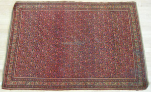 Malayer carpet, ca. 1910, 6' 2