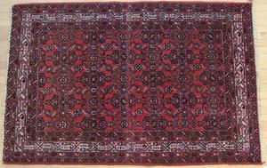 Hamadan carpet, mid 20th c., 7' x 4'8
