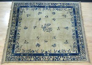 Chinese carpet, mid 20th c., 11' 4
