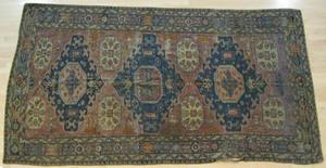 Sumac carpet, ca. 1900, 11' x 5' 8