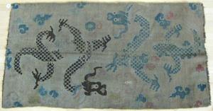 Chinese dragon rug, 6' 1