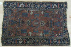 Hamadan carpet, 6' 4