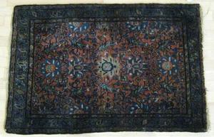 Two Hamadan carpets, ca. 1930, 6' 1