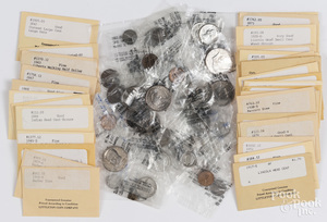 Collection of early U.S. coins