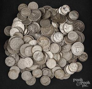 U.S. pre-1964 silver coins