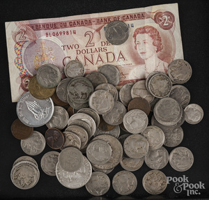 Miscellaneous coins and currency