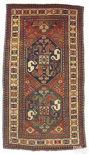 Antique Turkish prayer rug, ca. 1900, 3'9