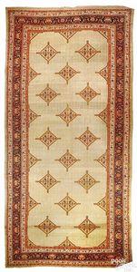 Hamadan carpet, ca. 1910, with a series of medalli