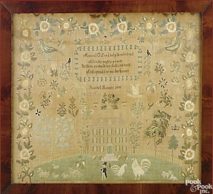 Elaborate Burlington County, New Jersey needlework