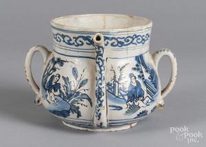 Delft posset pot