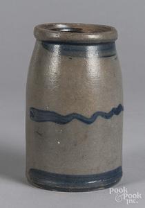 Western Pennsylvania stoneware canning crock