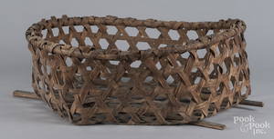 Large cheese basket with handles