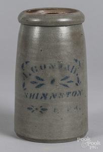Stoneware canning crock
