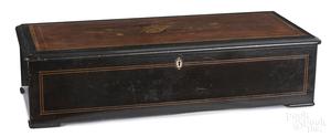 Nicole Freres cylinder music box