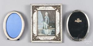 Miniature watercolor portrait of William Pitt