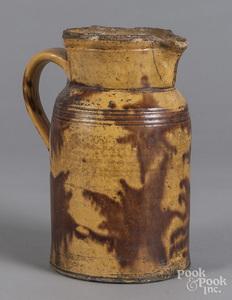 Redware pitcher