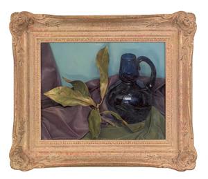 Luigi Lucioni (American, 1900-1988), oil on canva