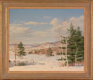 Carl Wuermer (American, 1900-1981), oil on canvas