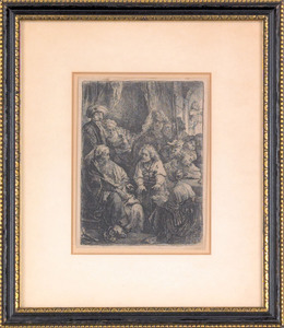 Rembrandt van Rijn (Dutch, 1606-1669), etching ti