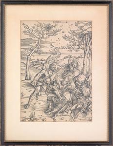 Albrecht Durer (German, 1471-1528), woodcut of He
