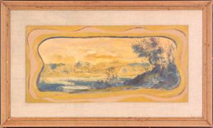 Louis Elshemus (American, 1864-1941), oil on boar