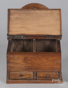 Pennsylvania walnut wall box