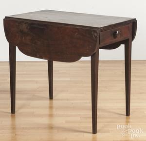 Walnut Pembroke table
