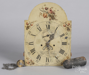 Tall case clock movement
