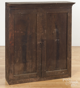 Pennsylvania walnut bookcase top