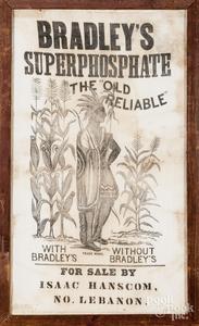 Bradley's Superphosphate feed bag