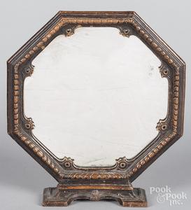 Walnut dresser mirror