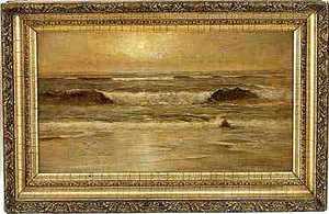 Franklin Dullin Briscoe(American, 1844-1903) - Oil