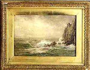 William Trost Richards(American, 1833-1905) - Oiln