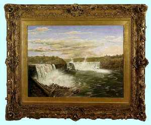William Coventry Wall(American, 1810-1886) - Oil o