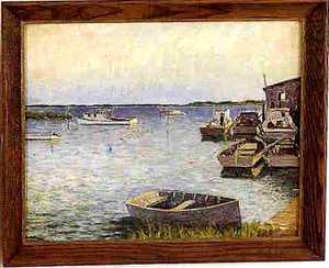 Morris Hall Pancoast(American, 1877-1963) - Oil on