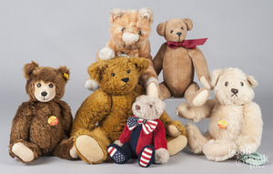 Group of plush animals