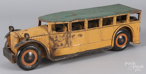 Schiebel pressed steel bus
