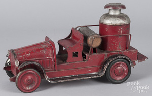 Dayton pressed steel fire pumper